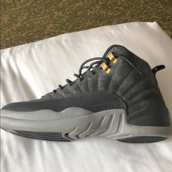 factory authentic b6cd9 69a9c Air Jordan 12 Wolf Grey